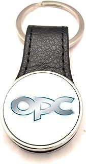 Schlüsselanhänger Stahl / Kunstleder Road Runner – Opel OPC (2 Seiten)