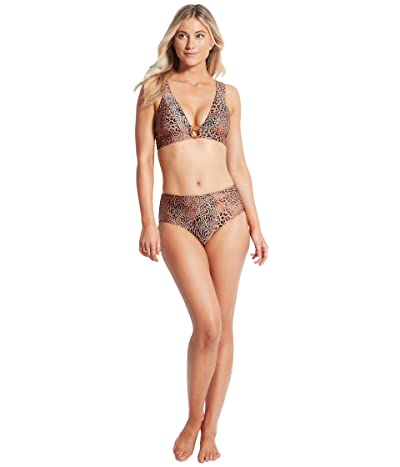 Seafolly Wild Ones Banded Tri Bikini Top