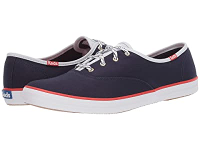 Keds Champion Varsity Seasonal Solids (Navy) Women