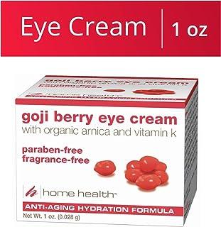 Home Health Goji Berry Eye Cream - 1 oz - Anti-Aging, Firming & Hydrating Formula, Reduces Under Eye Swelling, Soothes Ski...