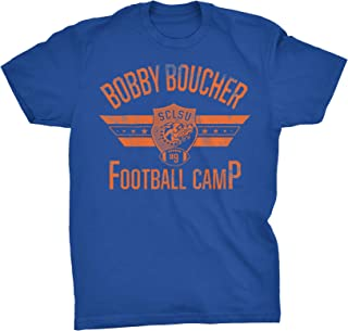 Bobby Boucher Football Camp - Mud Dogs Funny Vintage Movie T-Shirt