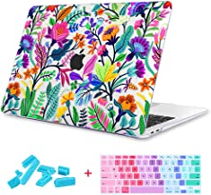 Maychen MacBook Air 13 inch Case 3 in 1, 3D Printing Hard Shell Light Weight Case for MacBook Air 13