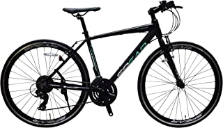 SPEAR (スペア) クロスバイク 700c アルミフレーム シマノ製 21段変速 SPCA-7021 ディレーラー Tourney(ターニー)適用身長160㎝以上