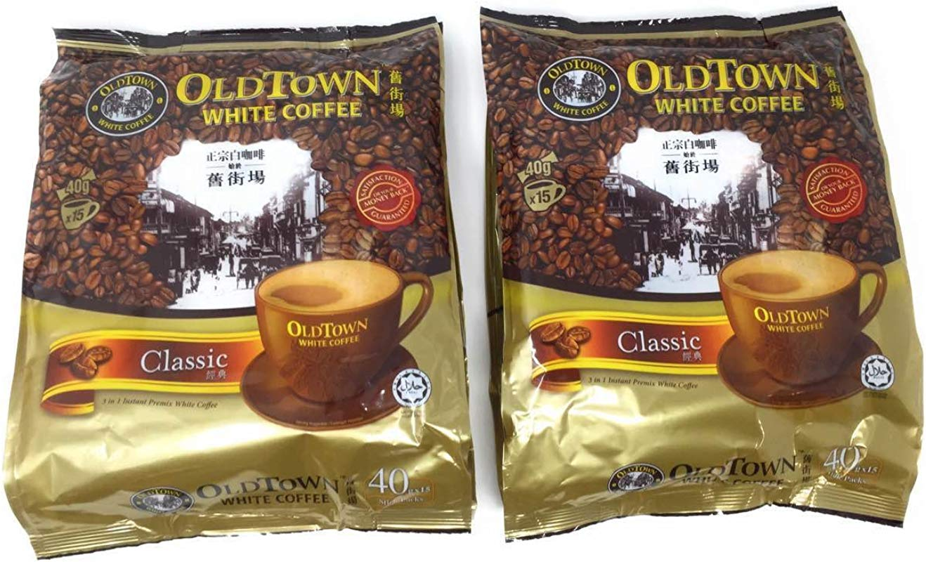 OLD TOWN 3 In 1 Classic White Coffee 21 2 Ounce 2 Pack