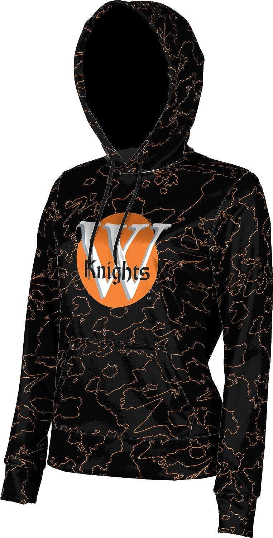 ProSphere Wartburg College Girls' Pullover Hoodie, School Spirit Sweatshirt (Topography)
