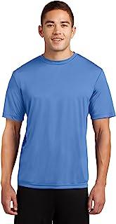 Dri-Tek Men's Big and Tall Short Sleeve Moisture Wicking Athletic T-Shirt