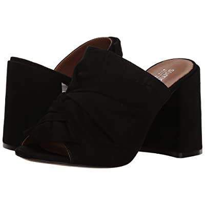 Summit by White Mountain Anya (Black Suede) High Heels
