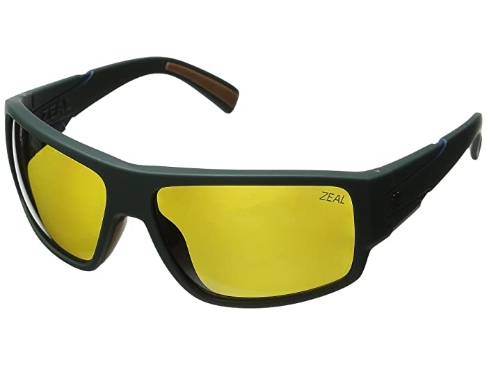 Zeal Optics  Big Timber (Forest Green/Polarized Auto Lens) Sport Sunglasses