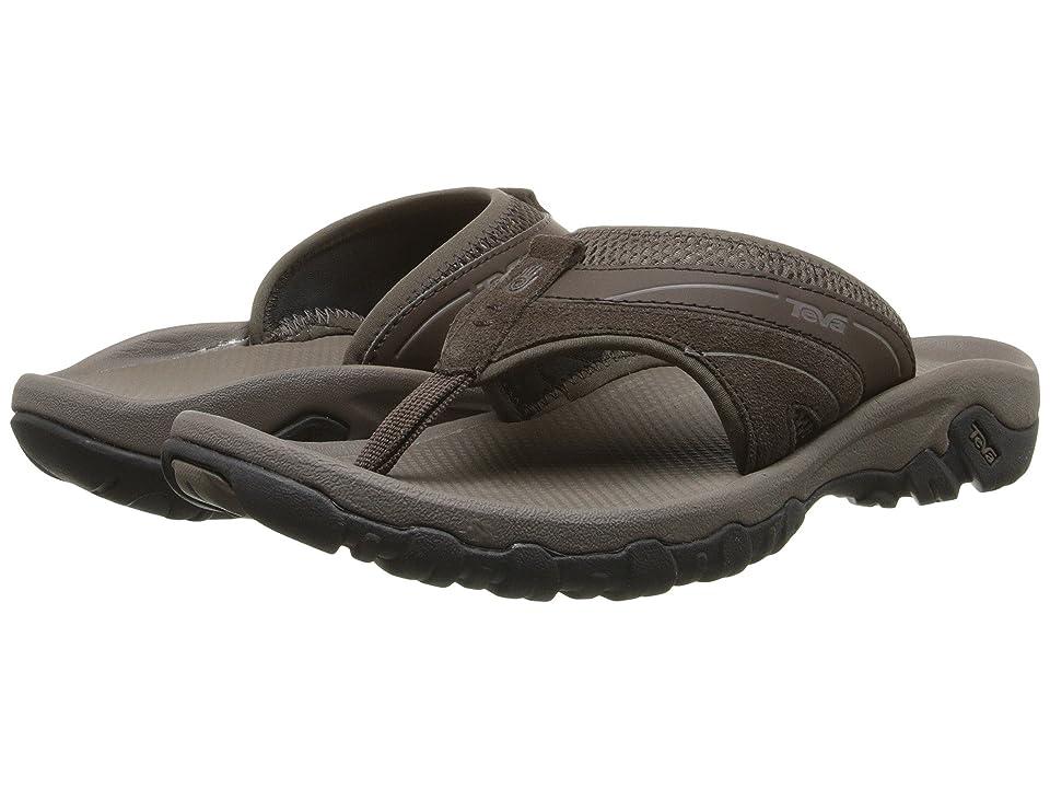 Teva Pajaro (Turkish Coffee) Men's Toe Open Shoes