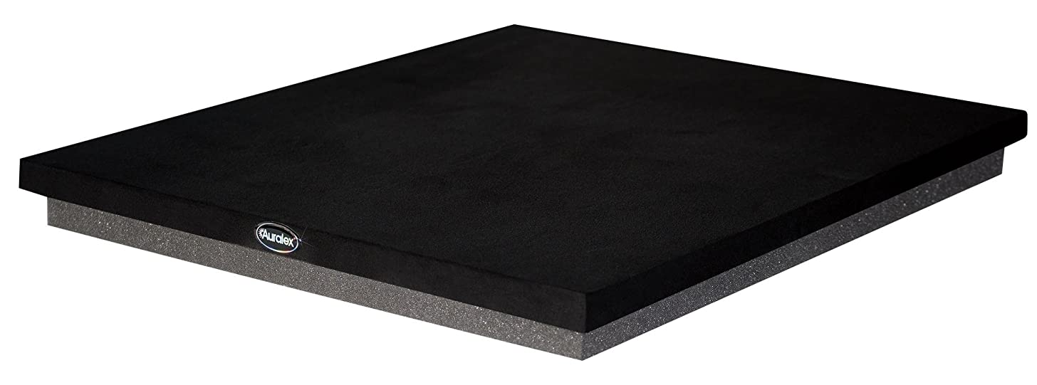 Auralex ISO Series Subwoofer Risers Sound Damping Products, Black, 1?