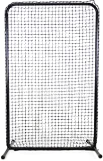 """Jugs Standard Lite-Flite/Slowpitch Screen —The Perfect Screen to use with The Lite-Flite or Small-Ball Machines, 6.5'H x 4'W, 45 Ply Poly-E Netting and 1.5"""" Diameter Frame,1-Year Guarantee"""