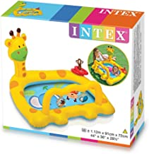 Intex 57105 Smiley Giraffe Inflatable Baby Pool