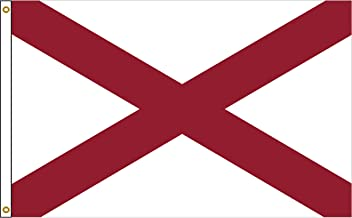 Alabama 4ftx6ft Nylon State Flag 4x6 Made in USA 4'x6'