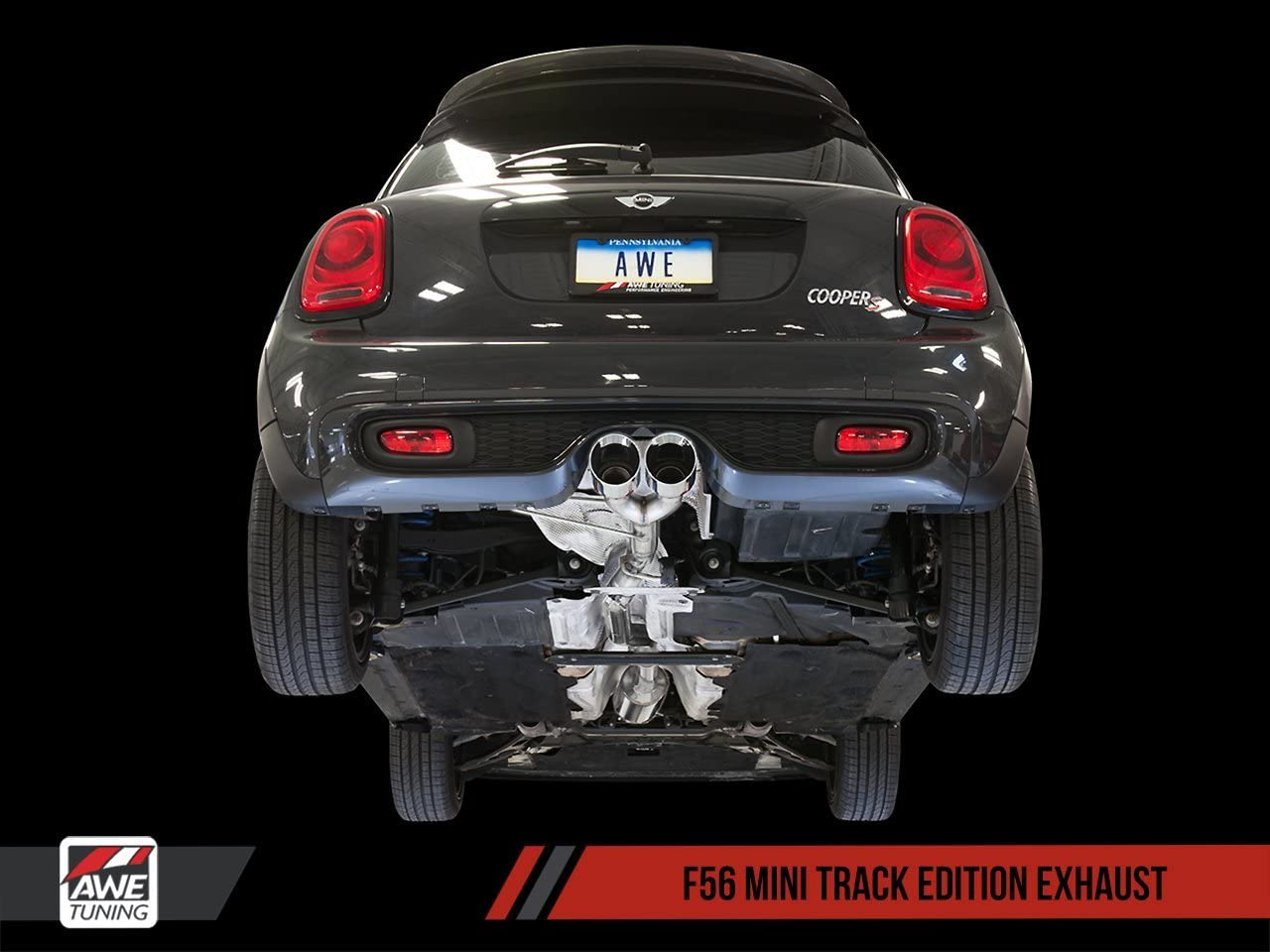 AWE Tuning 3015-22050 Max 53% OFF MINI F56 Exhaust Touring System C Edition Max 44% OFF