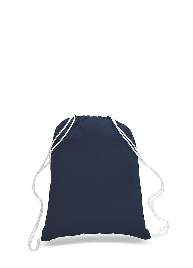 Pack of 2 - Eco-Friendly Reusable Drawstring Bag Economical 6 oz. Cotton Canvas Drawstring Bag Cinch bags size 14