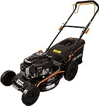 DELTAFOX Benzine-grasmaaier - achterwielaandrijving - krachtige 170cc 4-takt motor - 51cm maaibreedte - 70L opvangzak - 4-...