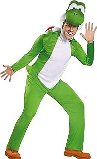 Disguise Yoshi Deluxe Disfraz de Adulto para Hombre - Multi - X-Large