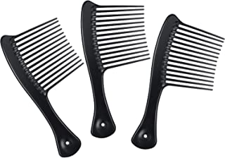 3 Packs Rake Comb Bone Tortoise Rake Comb Smooth Hair Pick Comb Afro Lift Detangle Hair Comb Hair Styling Tools