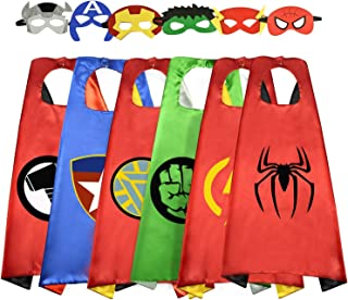Fun Cartoon Superhero Capes for Kids - Best Gifts for Halloween
