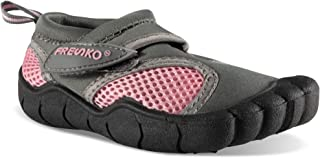 Fresko Toddler Water Shoes; Toe Water Shoes for Kids, Mesh 4 Colors, Rubber Sole