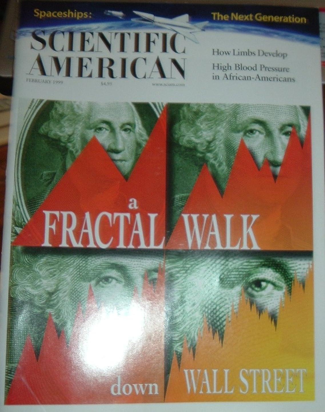 SCIENTIFIC AMERICAN February 1999 Volume 280 Number 2 (Magazine. Wall Street. High Blood Pressure In African Americans. Fractal Walk..)