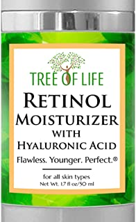 Retinol Moisturizer Face Cream - Clinical Strength Anti Aging Cream