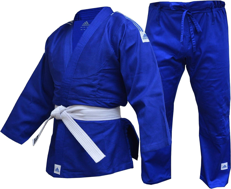adidas Judo Gi Adulto Niños Hombres Mujeres Uniforme Club Traje 350g Azul 110 120 130 140 150 160 170 180 190