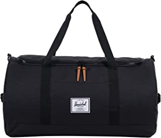 Herschel Supply Co. Sutton Duffle Bag, Black, One Size, unisex-adult