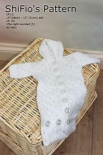 knitting pattern -KP121 - Sleeping Bag 10