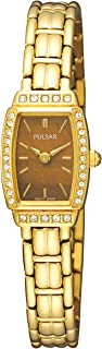 Women's PEGE60 Crystal Tiger Eye Dial Watch