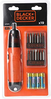 Black & Decker Battery Powered Cordless Screwdriver - A7073