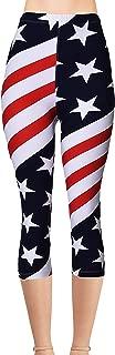 Best american flag capris Reviews
