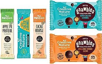 Creative Nature Vegan Protein Snack Box 2 2 x Protein Gnawbles 3 x Protein Bars Estimated Price : £ 15,00