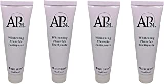 Nu Skin aULZpZ Ap 24 Whitening Fluoride Toothpaste, 4 oz, 4 Pack
