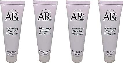 Nu Skin aULZpZ Ap 24 Whitening Fluoride Toothpaste, 4 oz, 4 Pack