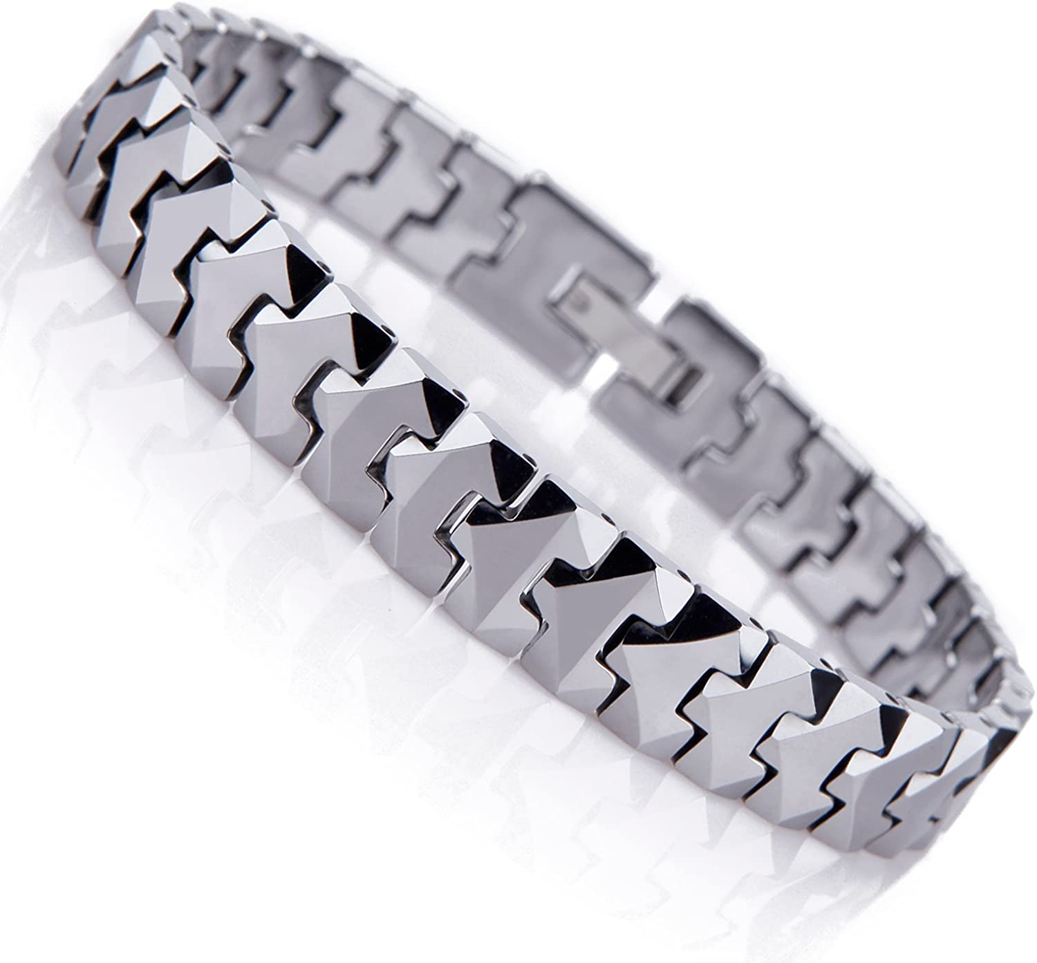 Urban Jewelry Ranking TOP10 Unique Ranking TOP10 Solid Tungsten Lin Puzzle Style Mens Pieces