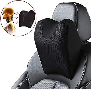 بالش گردن اتومبیل ABE ، بالشتک استراحت گردن صندلی صندلی اتومبیل ، بالش گردن اتومبیل مموری فوم برای رانندگی ، بالش پشت گردن صندلی ماشین برای تسکین درد گردن.