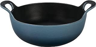 Le Creuset of America Enameled Cast Iron Balti Dish, 3-Quart, Marine