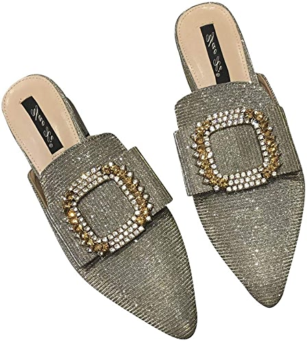 ZHAOXIANGXIANG Mesdames Buckles Muller Chaussures Baotou avec Chaussons Semi Usure
