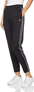 Champion Women's Track Pant, Black/White