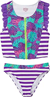 OFFCORSS Big Girls Tankini Swimsuit Tops Set | Traje de Baño para Niñas