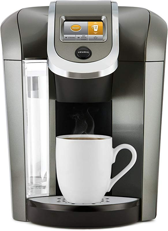 Keurig K575 Coffee Maker Single Serve K Cup Pod Coffee Brewer Programmable Brewer Platinum