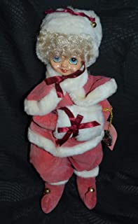 Brinn's Limited Edition 1986 January Calendar Clown Porcelain Doll Winter Wonderland 12