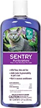 sentry flea shampoo for cats