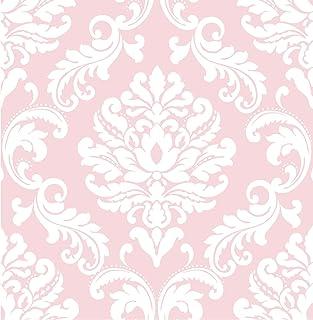 Amazon Com Pink Wallpaper Wallpaper Wallpapering Supplies