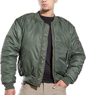 Army Air Force Fly Pilot Jacket Military Airborne Flight Men Warm Aviator Motorcycle Down Coat