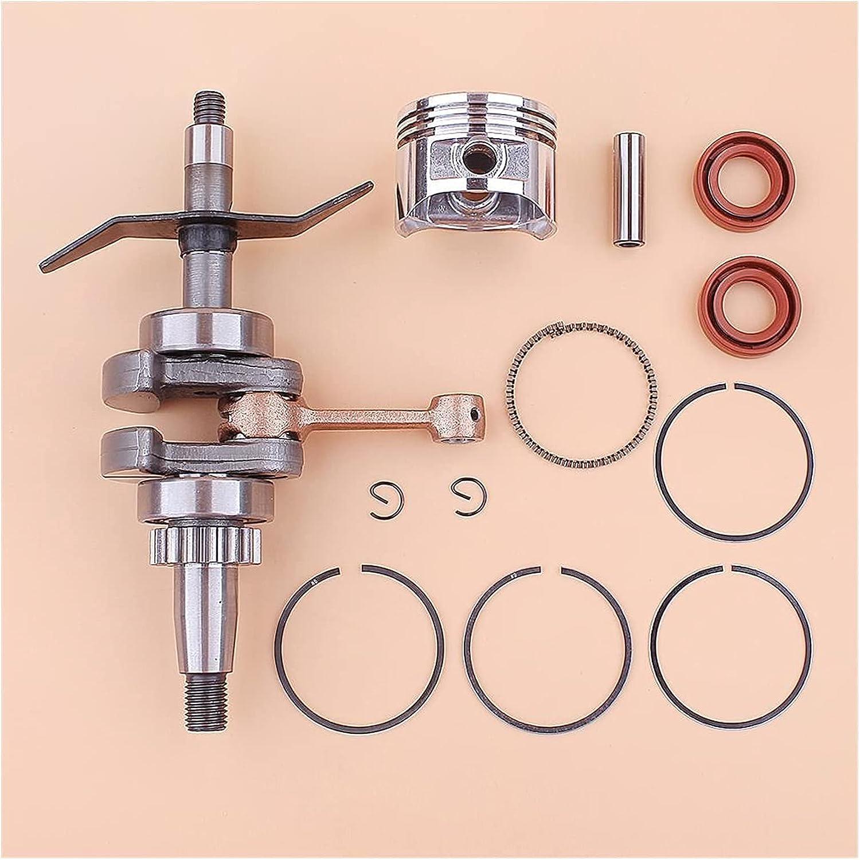 Kit de sello de aceite de anillo de pistón de cigüeñal de 39 mm compatible con accesorios de desbrozadora H-onda GX31 GX 31, desbrozadora