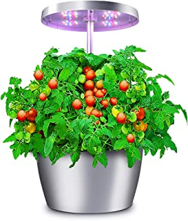 Hydroponic Garden, Compact Herb Garden Planter with Sleek Design, Hydro Growing System with Automatic Timer, Indoor Garden...
