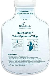 PF WaterWorks PF0550 FlushSMART Toilet Tank Optimizer Insert/Bag, Saves 1/2 to 3/4 Gallon Water per Flush, White
