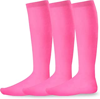 Acrylic Unisex Soccer Sports Team Cushion Socks 3 Pack